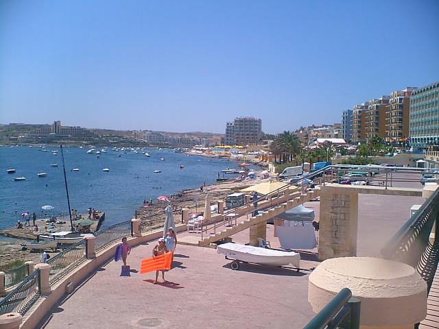 Qawra seafront